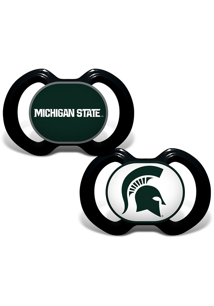 Michigan State Spartans Baby 2 pack Pacifier - Green