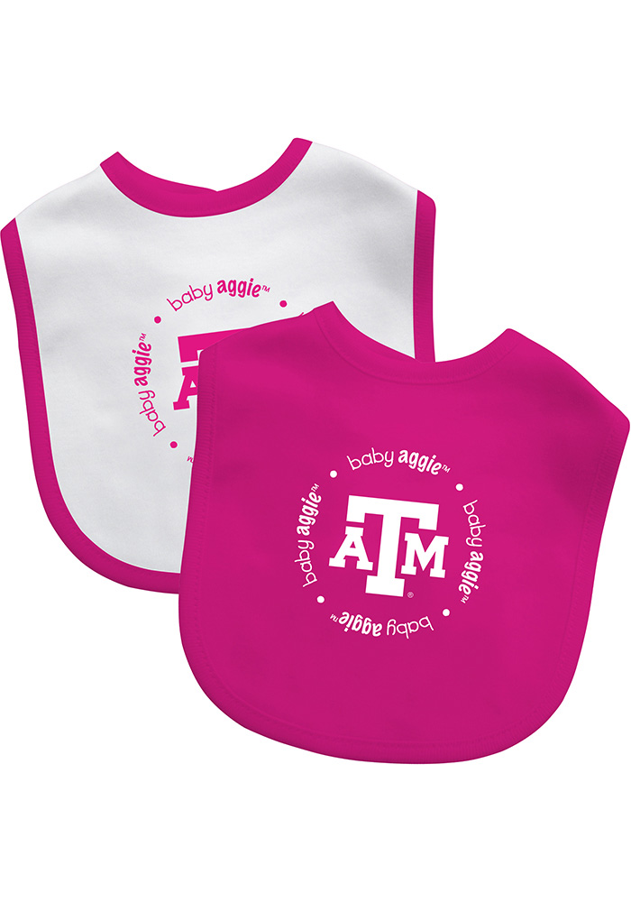 Texas A&M Aggies Team Logo Baby Bib - Image 1
