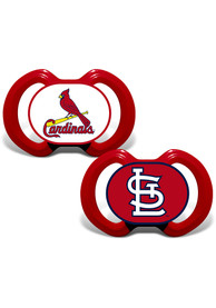 St Louis Cardinals Baby Team Logo Pacifier - Red