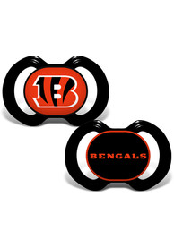 Cincinnati Bengals Baby Team Logo Pacifier - Black