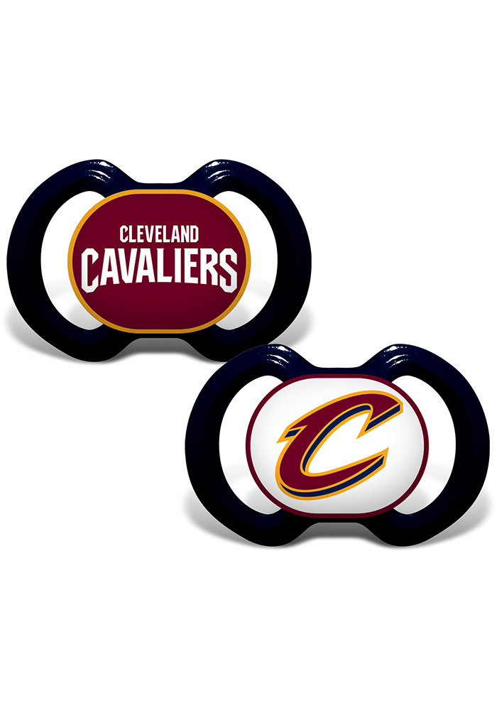 Cleveland Cavaliers 2pk Baby Pacifier - Image 1