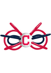 Cleveland Indians Baby Teether Rattle - Red