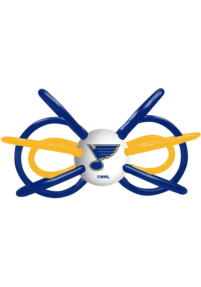 St Louis Blues Teether Baby Rattle - Image 1