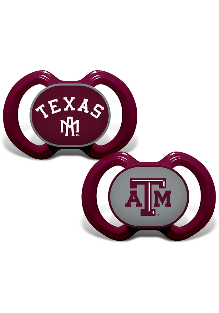 Texas A&M Aggies 2pk Baby Pacifier - Image 1