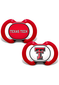 Texas Tech Red Raiders Baby 2pk Pacifier - Red