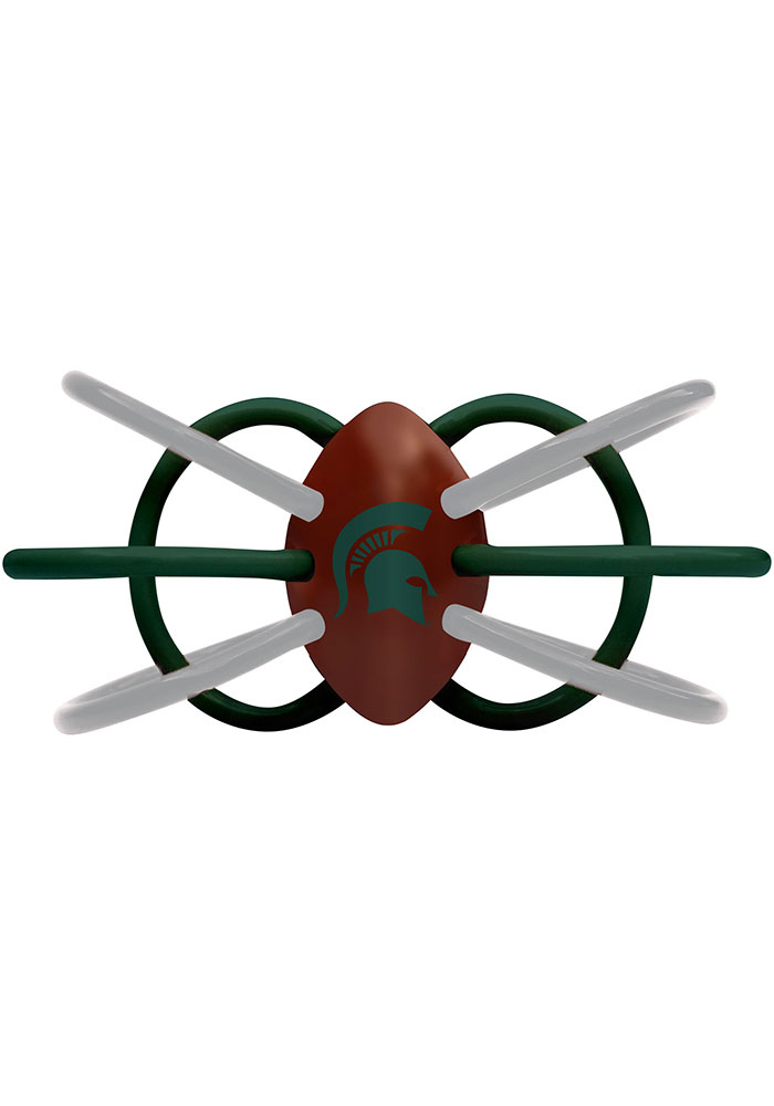 Michigan State Spartans Teether Baby Rattle - Image 1