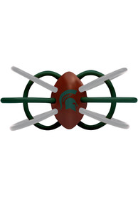 Michigan State Spartans Baby Teether Rattle - Green