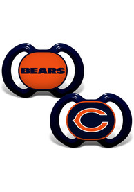 Chicago Bears Baby 2pk Pacifier - Navy Blue