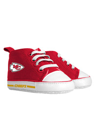 Kansas City Chiefs Baby Slip On Shoes - Red