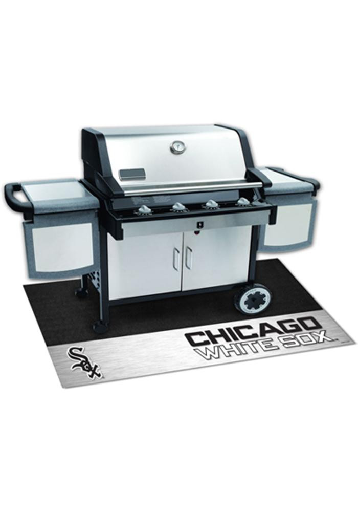 Chicago White Sox 26x42 BBQ Grill Mat - Image 1
