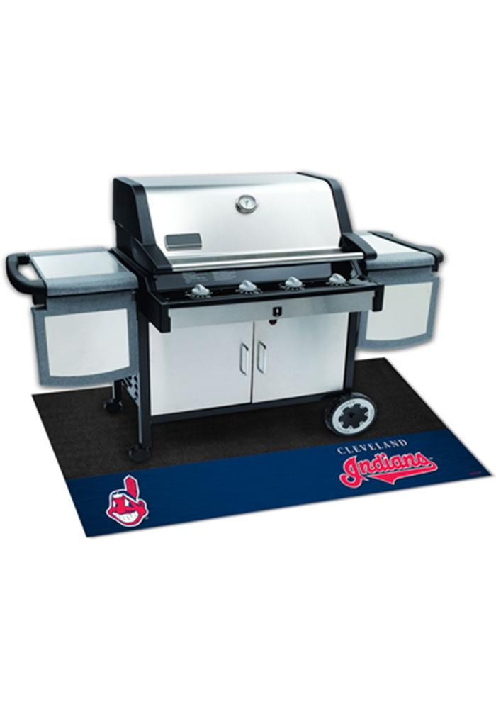 Cleveland Indians 26x42 BBQ Grill Mat - Image 1