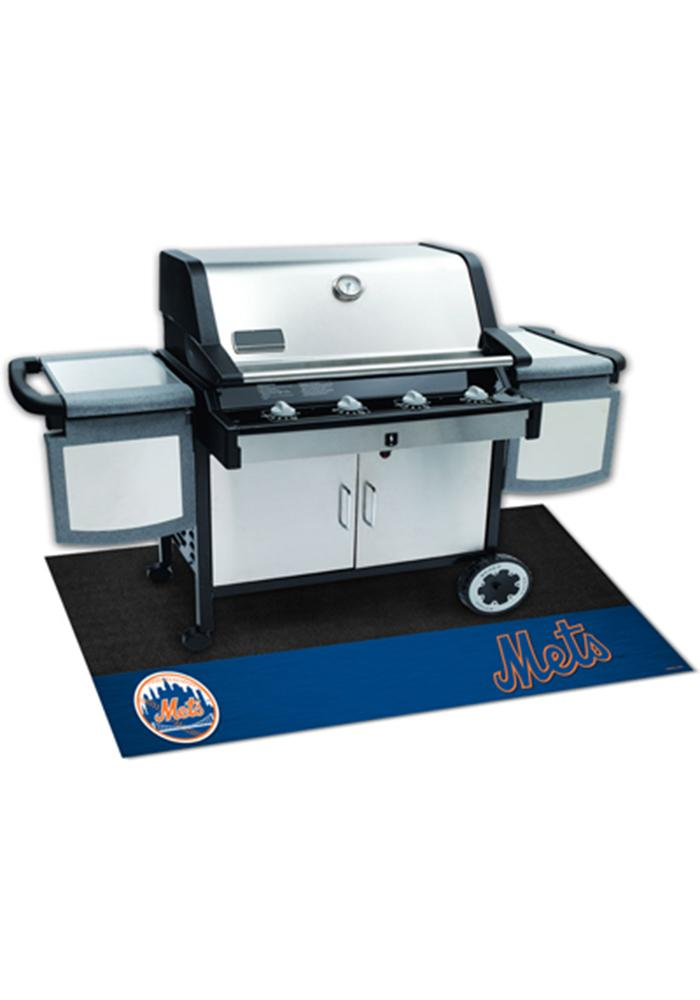 New York Mets 26x42 BBQ Grill Mat - Image 1