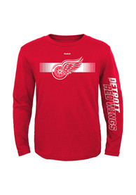 Detroit Red Wings Youth Red Blinder T-Shirt