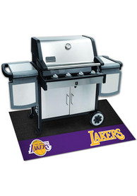 Los Angeles Lakers 26x42 BBQ Grill Mat