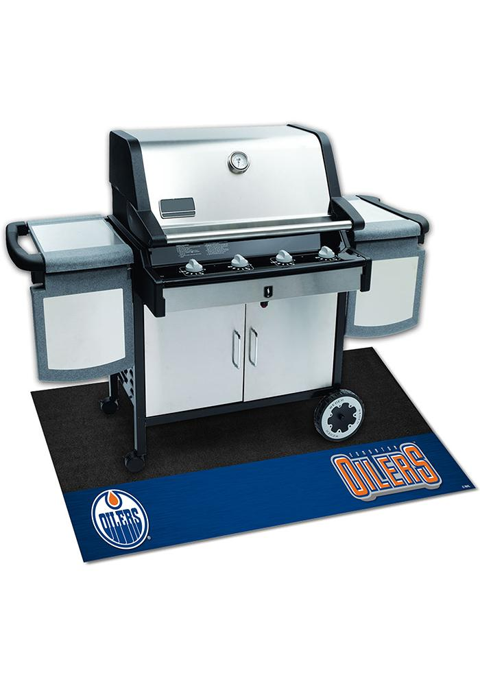 Edmonton Oilers 26x42 BBQ Grill Mat - Image 2