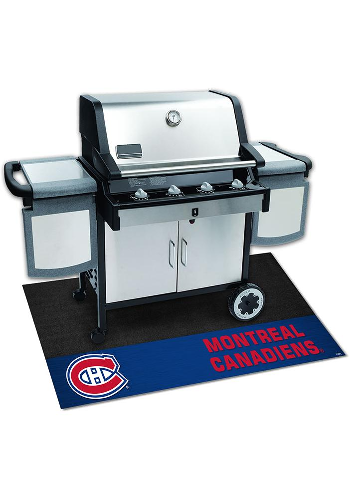 Montreal Canadiens 26x42 BBQ Grill Mat - Image 1
