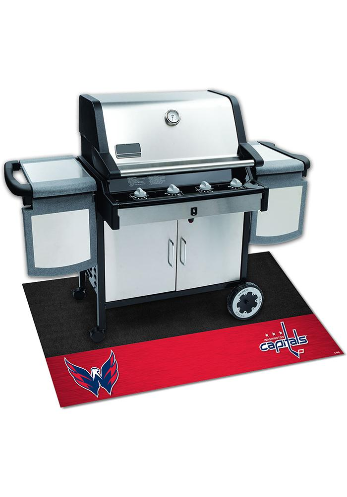 Washington Capitals 26x42 BBQ Grill Mat - Image 1