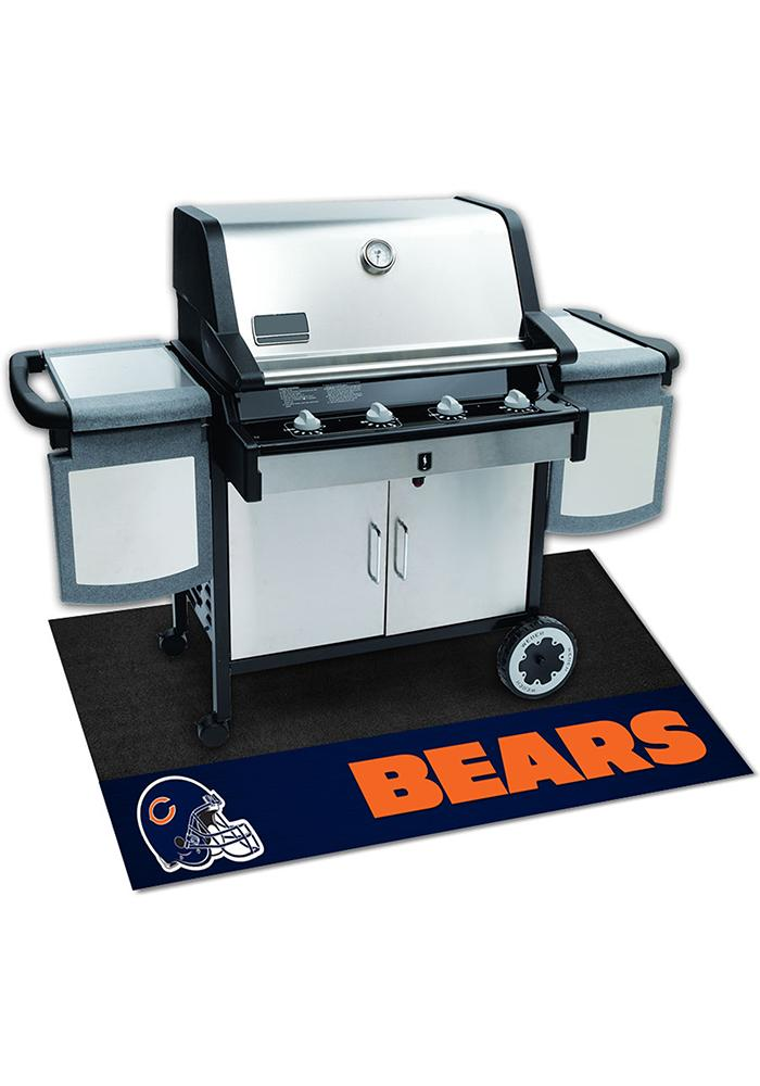 Chicago Bears 26x42 BBQ Grill Mat - Image 1