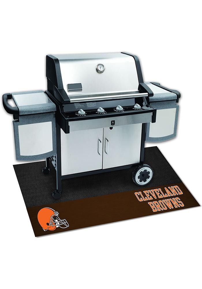 Cleveland Browns 26x42 BBQ Grill Mat - Image 2