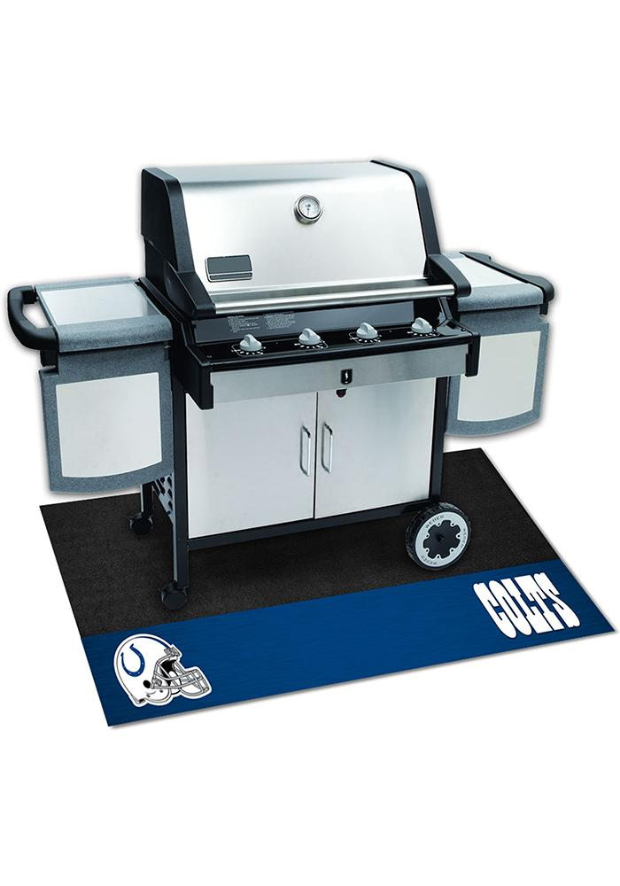 Indianapolis Colts 26x42 BBQ Grill Mat - Image 1
