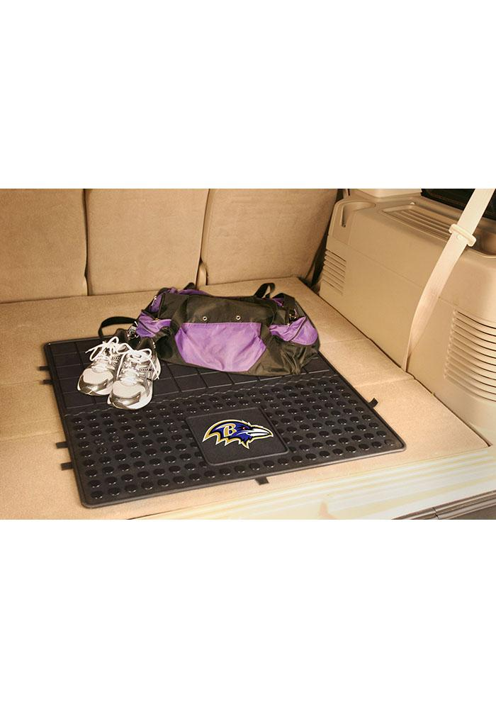 Sports Licensing Solutions Baltimore Ravens Heavy Duty Vinyl Car Mat - Black - Image 1