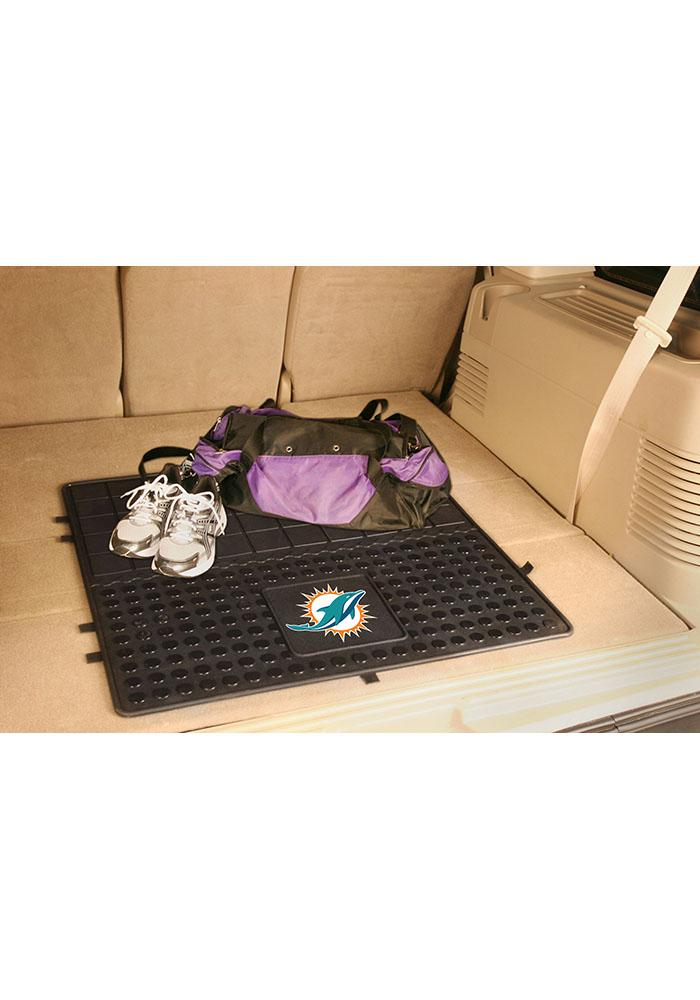Sports Licensing Solutions Miami Dolphins Heavy Duty Vinyl Car Mat - Black - Image 1