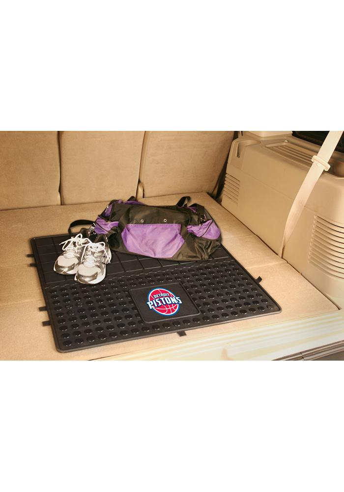 Sports Licensing Solutions Detroit Pistons Heavy Duty Vinyl Car Mat - Black - Image 1