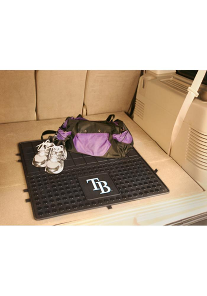 Sports Licensing Solutions Tampa Bay Rays Heavy Duty Vinyl Car Mat - Black - Image 1