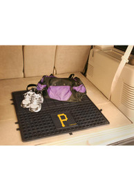 Sports Licensing Solutions Pittsburgh Pirates Heavy Duty Vinyl Car Mat - Black