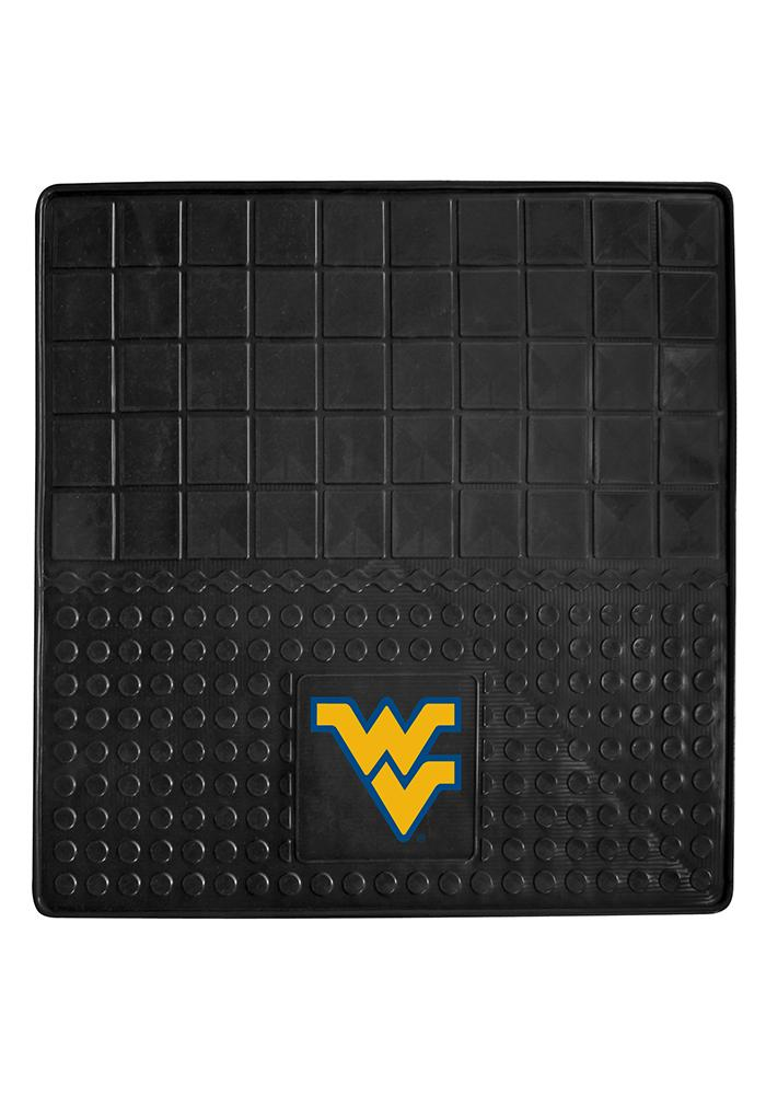 Sports Licensing Solutions West Virginia Mountaineers Heavy Duty Vinyl Car Mat - Black - Image 1