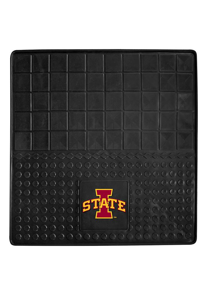 Sports Licensing Solutions Iowa State Cyclones Heavy Duty Vinyl Car Mat - Black - Image 1