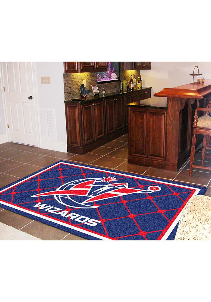 Washington Wizards Team Logo Interior Rug - Image 1