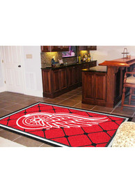 Detroit Red Wings Team Logo Interior Rug