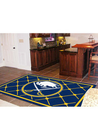 Buffalo Sabres Team Logo Interior Rug