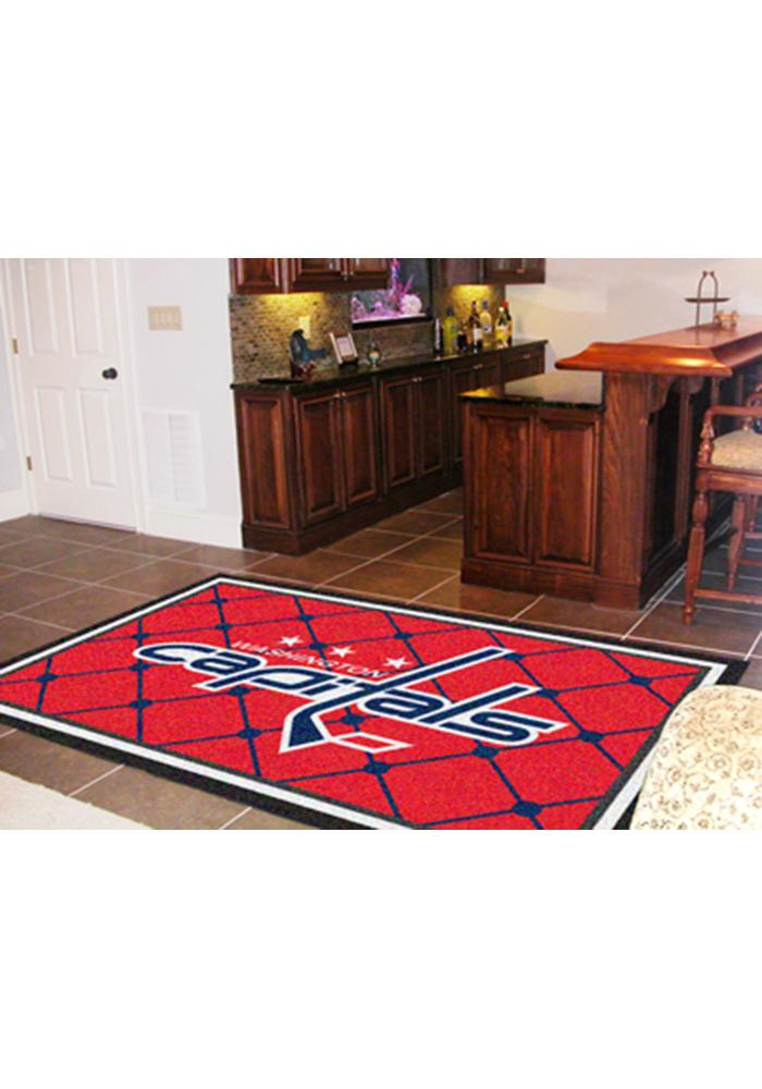 Washington Capitals Team Logo Interior Rug - Image 1