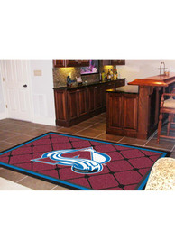 Colorado Avs Team Logo Interior Rug