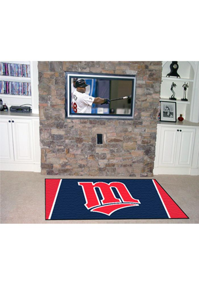 Minnesota Twins Team Logo Interior Rug - Image 1
