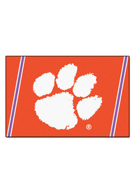 Clemson Team Logo Interior Rug