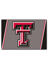 TTech Red Raiders Team Logo Interior Rug