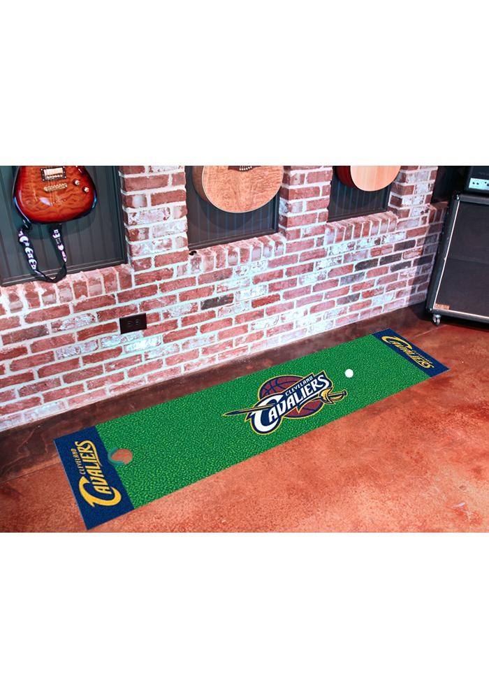 Cleveland Cavaliers 18x72 Putting Green Runner Interior Rug - Image 1