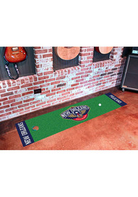 New Orleans Pelicans 18x72 Putting Green Runner Interior Rug