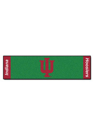 IU Hoosiers 18x72 Putting Green Runner Interior Rug