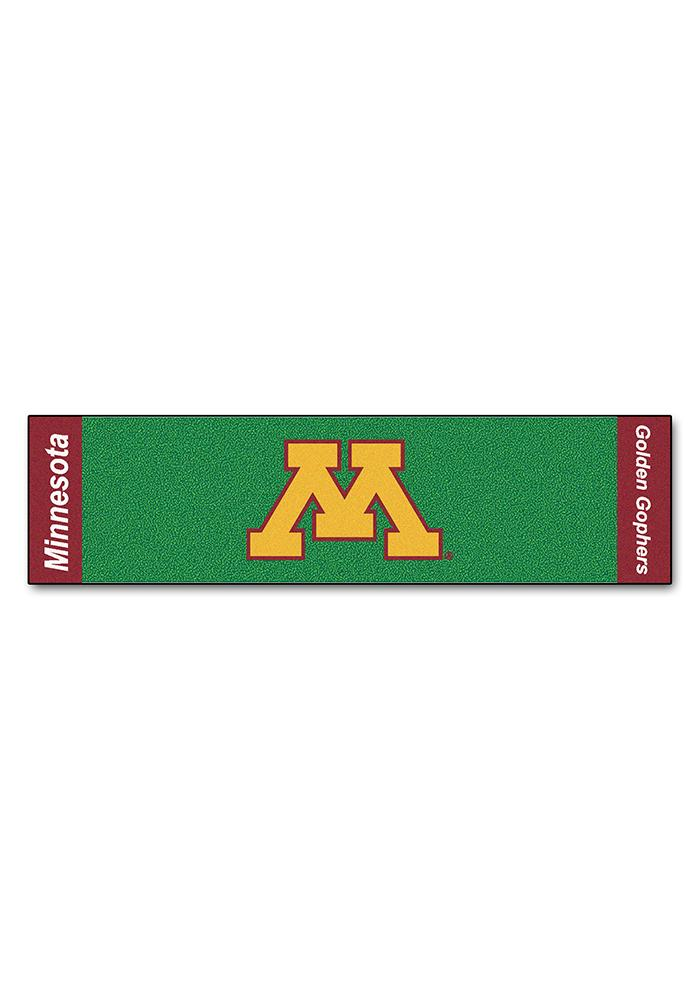 Minnesota Golden Gophers 18x72 Putting Green Runner Interior Rug - Image 1