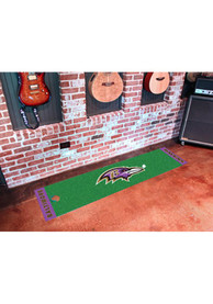 Baltimore Ravens 18x72 Putting Green Runner Interior Rug