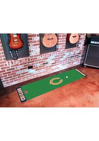 Chicago Bears 18x72 Putting Green Runner Interior Rug