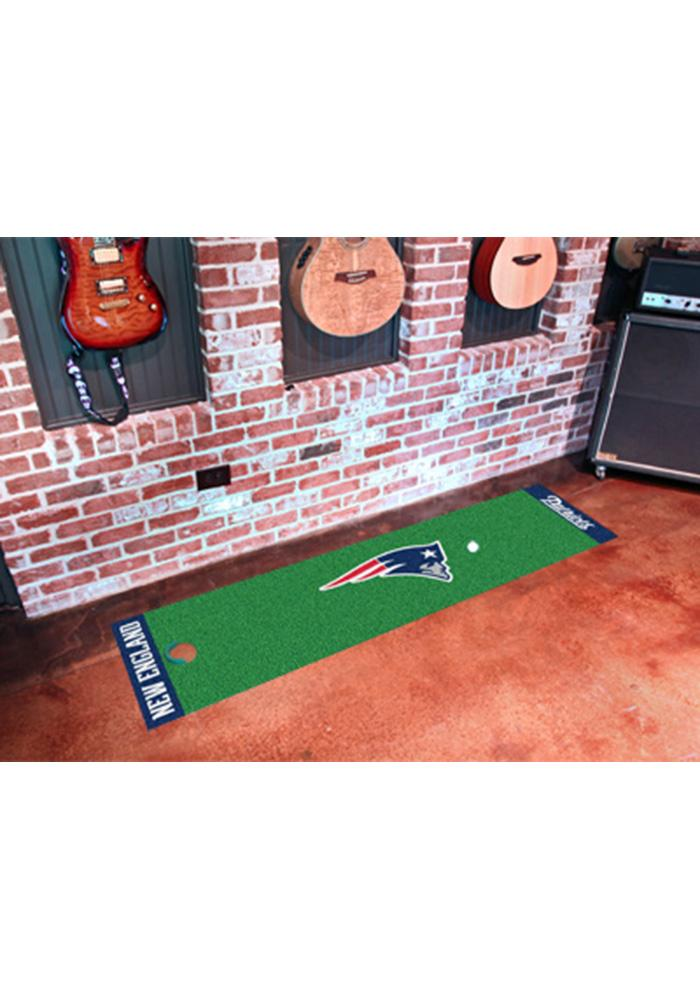 New England Patriots 18x72 Putting Green Runner Interior Rug - Image 1