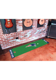 New England Patriots 18x72 Putting Green Runner Interior Rug
