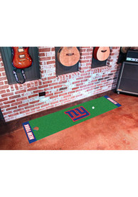 NY Giants 18x72 Putting Green Runner Interior Rug