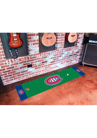 Montreal Canadiens 18x72 Putting Green Runner Interior Rug