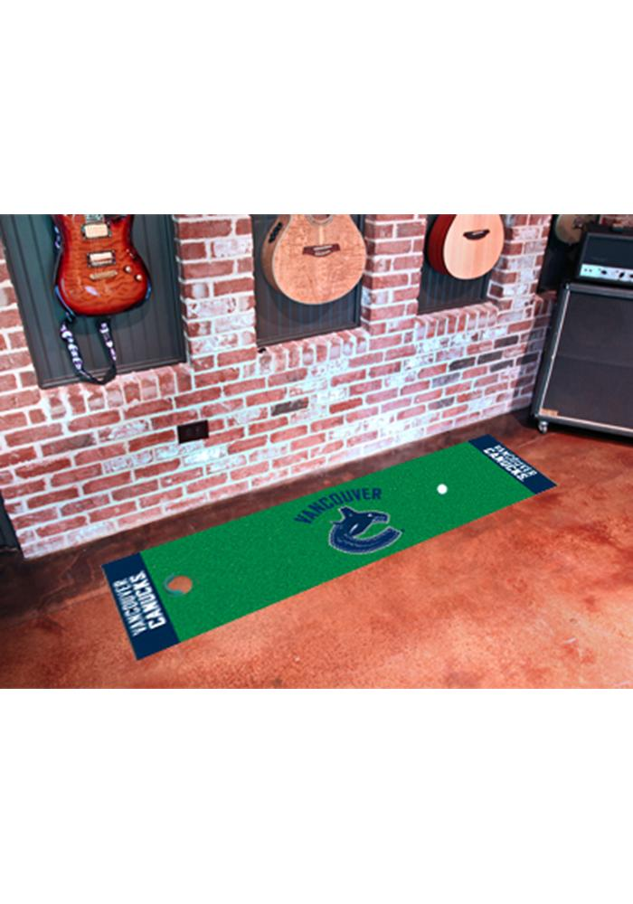 Vancouver Canucks 18x72 Putting Green Runner Interior Rug - Image 1